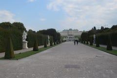 Belvedere de Viena fotografia de stock