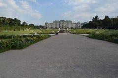 Belvedere de Viena imagem de stock royalty free