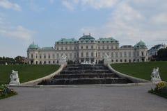 Belvedere de Viena foto de stock