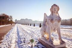 Belvedere del palacio en Viena Fotografía de archivo