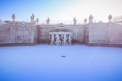 Belvedere del palacio en Viena Fotografía de archivo libre de regalías