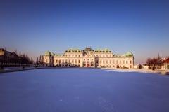 Belvedere del palacio en Viena Imagen de archivo