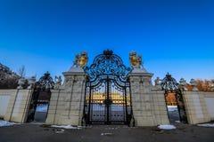 Belvedere del palacio en Viena Imagenes de archivo