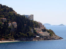 Belvedere dell'hotel, Dubrovnik immagini stock