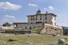 Belvedere do forte em Florença, Itália imagens de stock royalty free