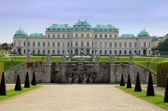 Belvedere do palácio de verão em Viena, Áustria Fotografia de Stock Royalty Free