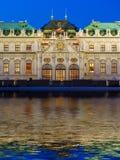 Belvedere do palácio em Viena Áustria imagem de stock