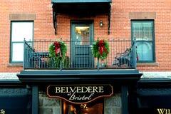 Belvedere em Bristol imagem de stock