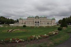 Belvedere em Viena foto de stock