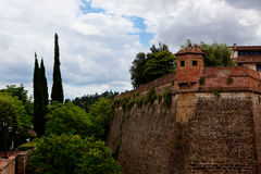 Belvedere fortress Florence, Italy Royalty Free Stock Image