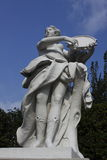 Belvedere het standbeeld van het chateaupark Royalty-vrije Stock Afbeelding