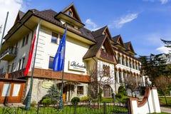 Belvedere Hotel in Zakopane Stock Images