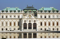 Belvedere Kasteel Wenen royalty-vrije stock foto