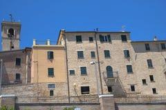 Belvedere Ostrense Ancona, Italia immagini stock libere da diritti