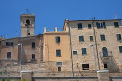 Belvedere Ostrense Ancona, Italia fotografia stock