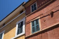 Belvedere Ostrense Ancona, Italia fotografie stock libere da diritti