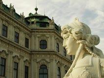 belvedere pałacu Obrazy Stock