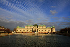 Belvedere Palace 03, Vienna, Austria Royalty Free Stock Photos