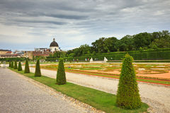 Belvedere palace Stock Photos