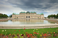 Belvedere palace. The Belvedere is a baroque palace complex built by Prince Eugene of Savoy in the 3rd district of Vienna Royalty Free Stock Photography