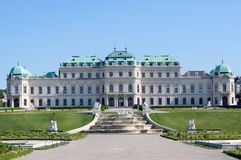 Belvedere Palace Stock Image