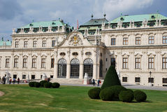 The Belvedere Palace Stock Photo