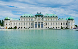 Belvedere palace. In Vienna, Austria Stock Photos