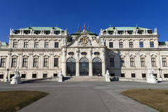 Belvedere palace Stock Photography