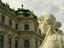Belvedere Palace Stock Images