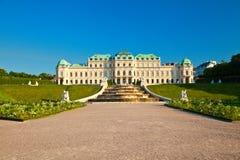 Belvedere Palace fotos de stock royalty free