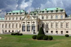 Belvedere Palace Immagine Stock