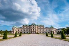 Belvedere Palace imagem de stock