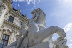 Belvedere Palace Lizenzfreies Stockbild
