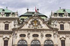 Belvedere Palace imagens de stock