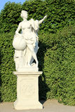 Belvedere Palace Garden statue Stock Photo