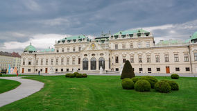 Belvedere Palace III Stock Photos