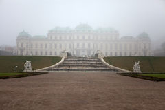 Belvedere Palace Stock Photo