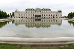 Belvedere palace and museum Vienna Royalty Free Stock Photos