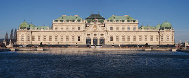 Belvedere palace and museum in Vienna Stock Photos