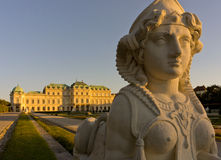 Belvedere Palace Royalty Free Stock Photo