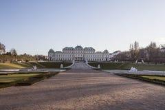 Belvedere palace Stock Photography