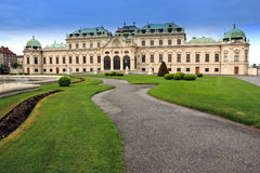 Belvedere Palace.Vienna Stock Photos