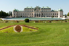 Belvedere Palace Vienna Stock Photography