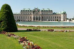 Belvedere Palace Vienna Stock Image