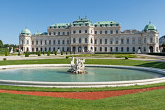 Belvedere Palace Vienna Royalty Free Stock Photos