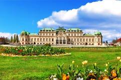 Belvedere Palace, Vienna Stock Photos