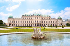 Belvedere Palace  ,Vienna, Austria Royalty Free Stock Photography