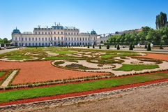 Belvedere palace in Vienna, Austria Stock Photography