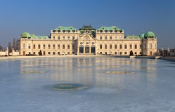 Belvedere palace Vienna, Austria Stock Photography