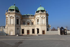 Belvedere Palace, Vienna, Austria Stock Images